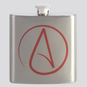 Red A Flask