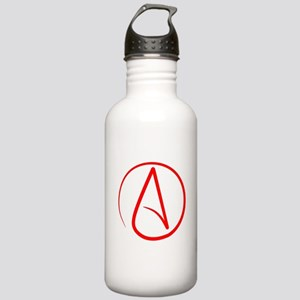 Red A Water Bottle