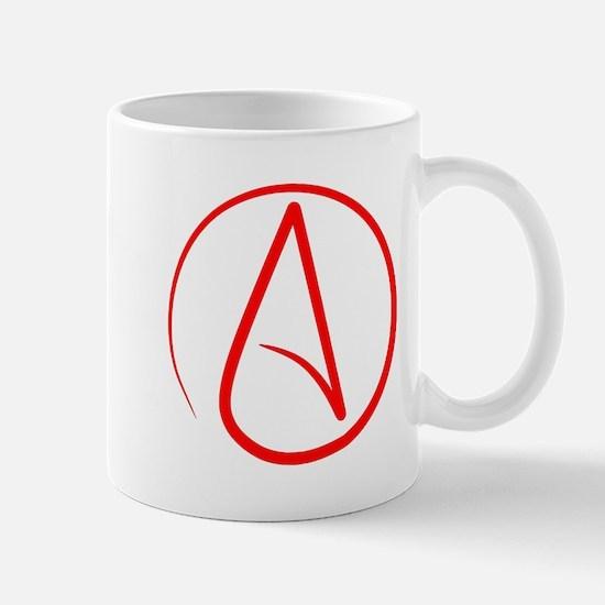 Red A Mugs
