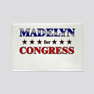 MADELYN for congress Rectangle Magnet