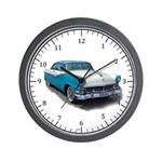 1955 Ford Fairlane Wall Clock