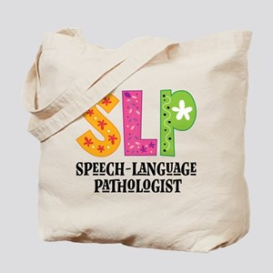 SLP Speech Therapist Tote Bag