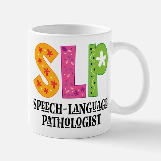 SLP Speech Therapist Mugs