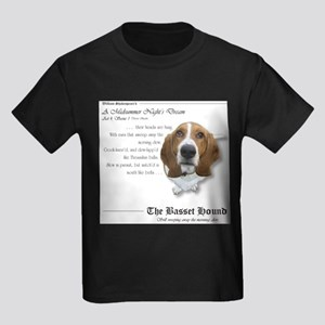 Shakespeare Basset Quote T-Shirt