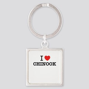 I Love CHINOOK Keychains