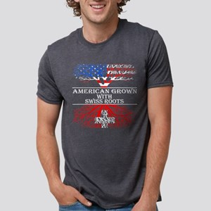 American Grown With Swiss Roots T-Shirt