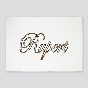 Gold Rupert 5'x7'Area Rug