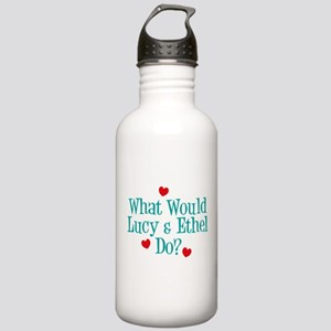 What Would Lucy Do Water Bottle