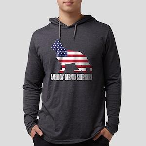 American German Shepherd Dog F Long Sleeve T-Shirt