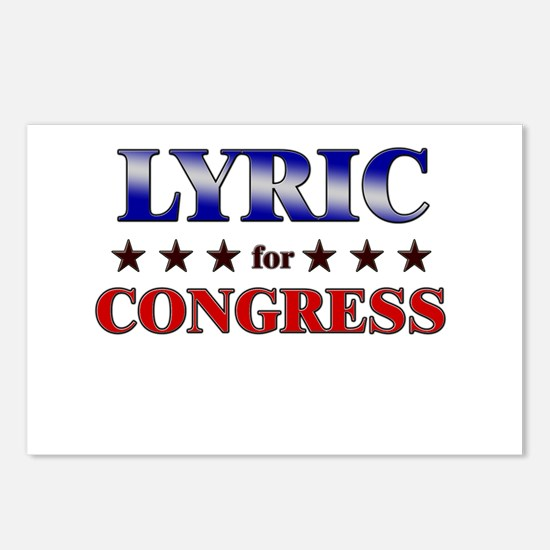 LYRIC for congress Postcards (Package of 8)