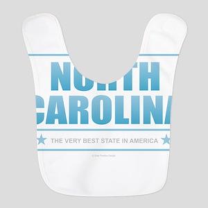 North Carolina Polyester Baby Bib