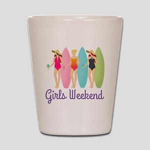 Girls Weekend Shot Glass