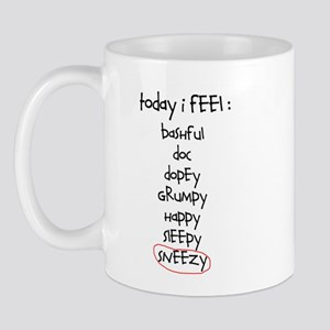 Today I Feel: Sneezy Mug