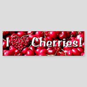 Helaine's Cherries Bumper Sticker