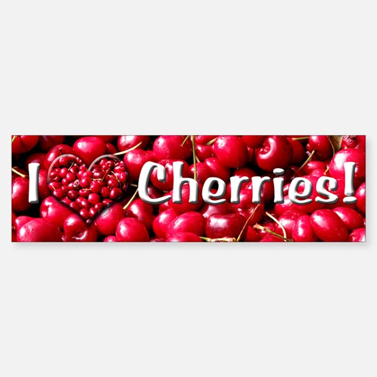 Helaine's Cherries Bumper Bumper Bumper Sticker