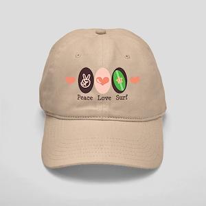 Surfing Peace Love Surf Surfboard Cap