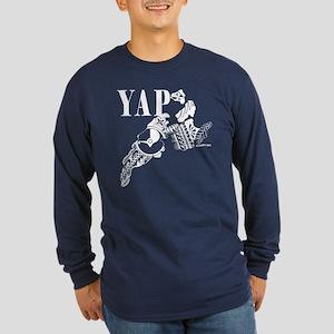 Yap Long Sleeve Dark T-Shirt