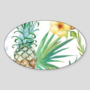 Vintage Flowers Sticker