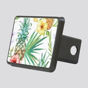 Vintage Flowers Hitch Cover