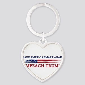 Make America Smart Again Keychains
