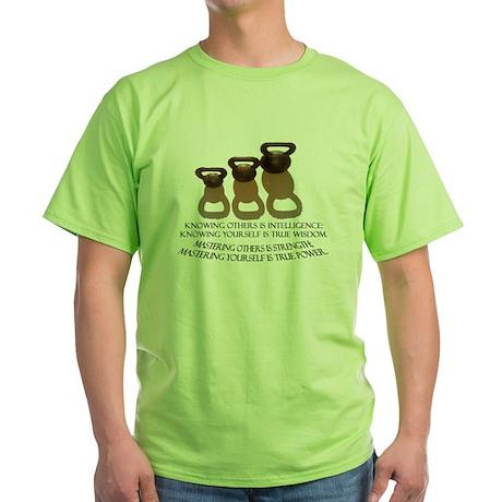 Kettlebell Green T-Shirt