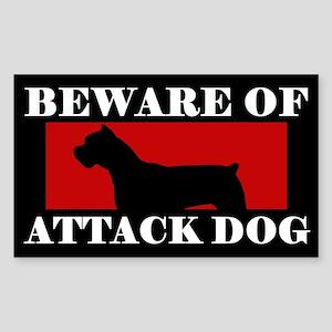 Beware of Attack Dog Cane Corso Sticker