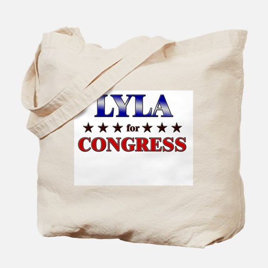 LYLA for congress Tote Bag