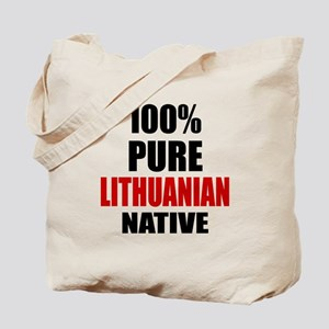 100 % Pure Lithuanian Native Tote Bag