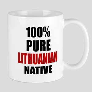 100 % Pure Lithuanian Native Mug