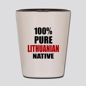 100 % Pure Lithuanian Native Shot Glass
