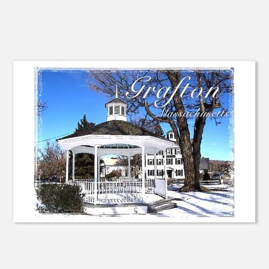 Grafton, Massachusetts - Postcards (Package of 8)