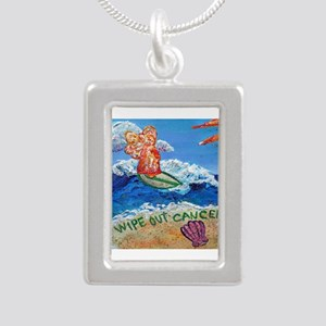 Wipe Out Cancer Angel Necklaces