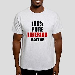 100 % Pure Liberian Native Light T-Shirt