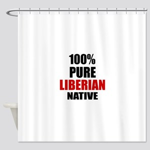 100 % Pure Liberian Native Shower Curtain