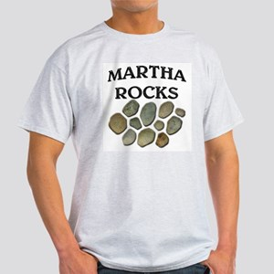 Martha Rocks Ash Grey T-Shirt