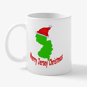 Merry Jersey Christmas Mug