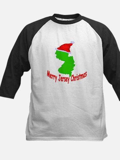 Merry Jersey Christmas Kids Baseball Jersey