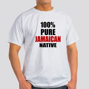 100 % Pure Jamaican Native Light T-Shirt