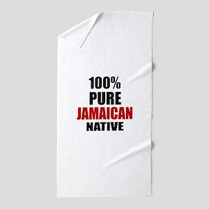 100 % Pure Jamaican Native Beach Towel
