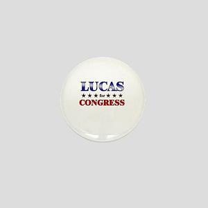LUCAS for congress Mini Button