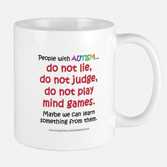 No Games (People) Mug