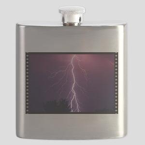 Lightning Strike Flask
