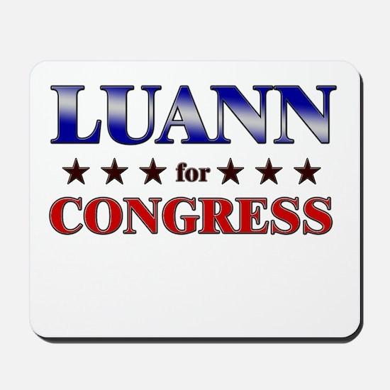LUANN for congress Mousepad