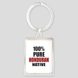 100 % Pure Honduran Native Portrait Keychain