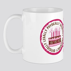 Birthday Stamp 21 Mug