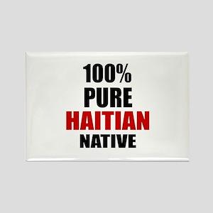 100 % Pure Haitian Native Rectangle Magnet