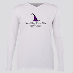Charmed Something Wicca Plus Size Long Sleeve Tee