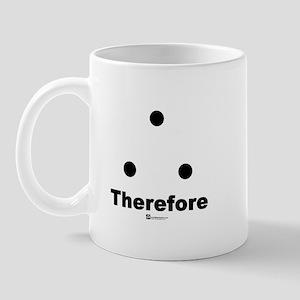 Therefore sign - Mug