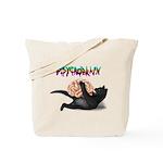 Psycho brain Tote Bag