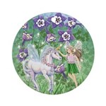 Fairy Unicorn Ornament (Round)
